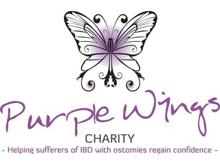 Purple Wings Charity logo