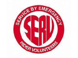 Service by Emergency Rider Volunteers Oxon Bucks Northants & Berks logo