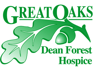 DEAN FOREST HOSPICE logo