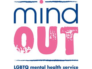 MindOut LGBTQ Mental Health Service logo