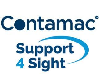 Contamac supporting Support 4 Sight logo