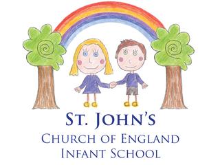 St John's C of E Infant School logo