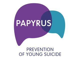 PAPYRUS Prevention of Young Suicides logo