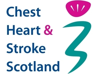 Chest Heart & Stroke Scotland logo