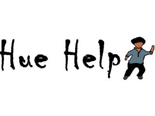 HUE HELP logo