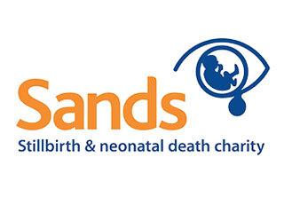 Sands, the stillbirth & neonatal death charity logo