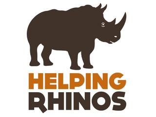 Helping Rhinos logo