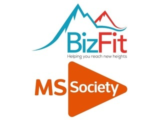 We Are BizFit supporting Multiple Sclerosis Society logo