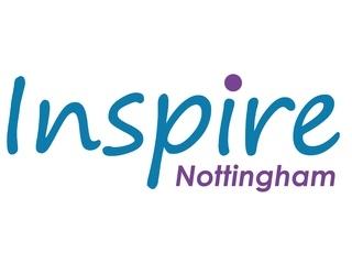 INSPIRE, NOTTINGHAM logo
