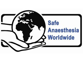 Safe Anaesthesia Worldwide logo