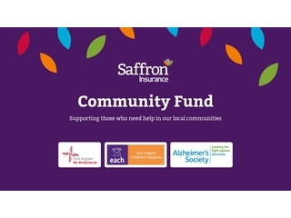 Saffron Insurance Community Fund logo
