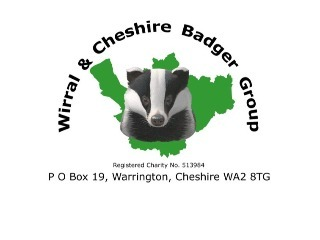 THE WIRRAL AND CHESHIRE BADGER GROUP logo