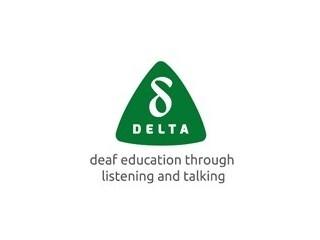 DELTA (Deaf Education Through Listening and Talking) logo