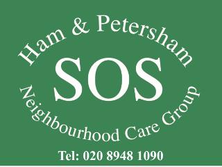 Ham & Petersham SOS logo