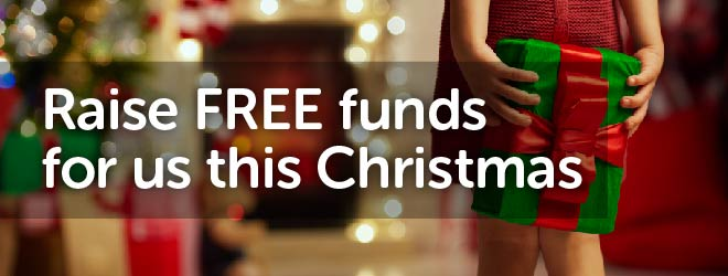 Raise free funds for us this Christmas!